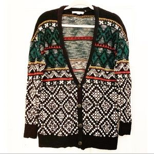 Staring at Stars Button Up Oversized Cardigan
